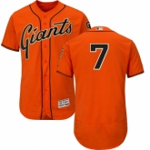 Youth San Francisco Giants #28 Buster Posey Authentic Orange National League 2017 MLB All-Star MLB Jersey